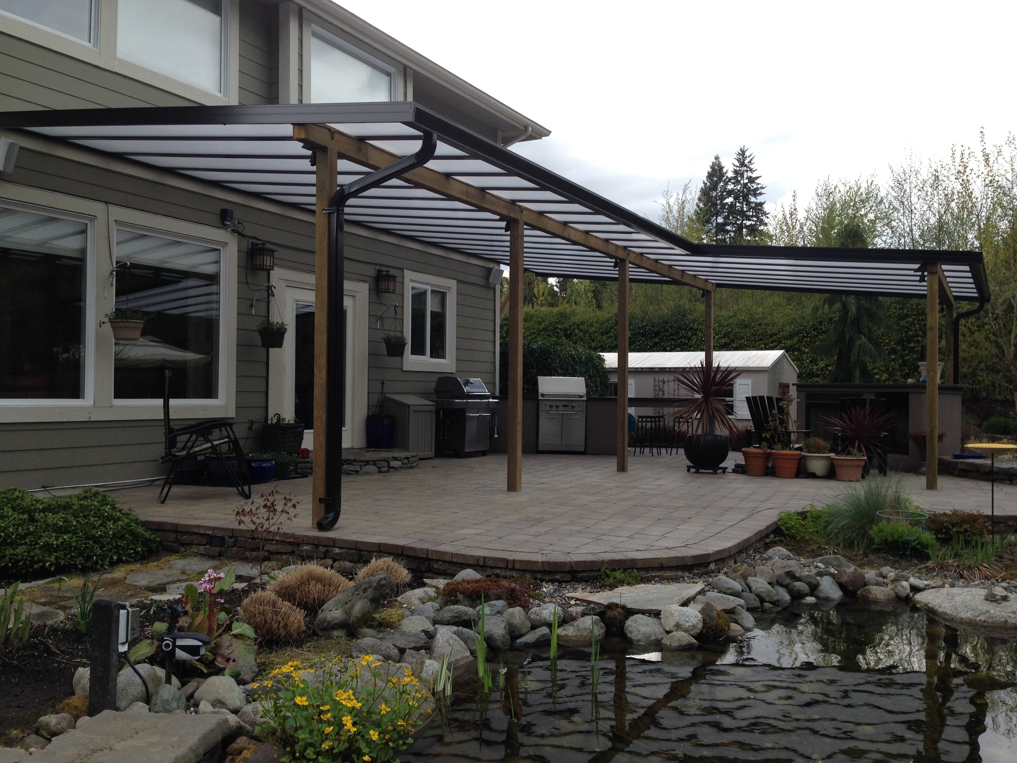 patio covers, deck covering options