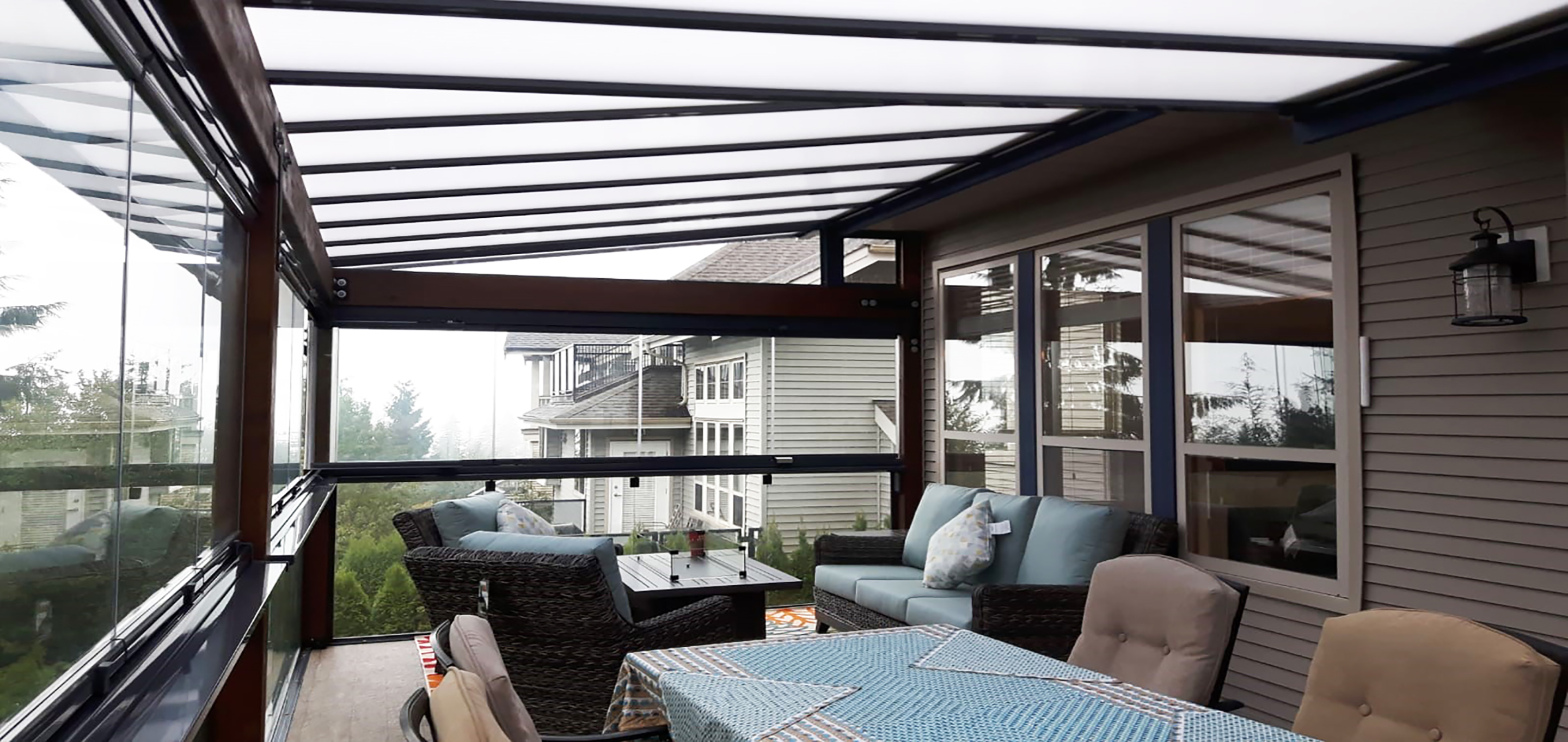patio cover, wood patio cover, glass patio cover, outdoor living space, aluminum patio cover, sun deck, covered deck, patio awning, porch awning, awning