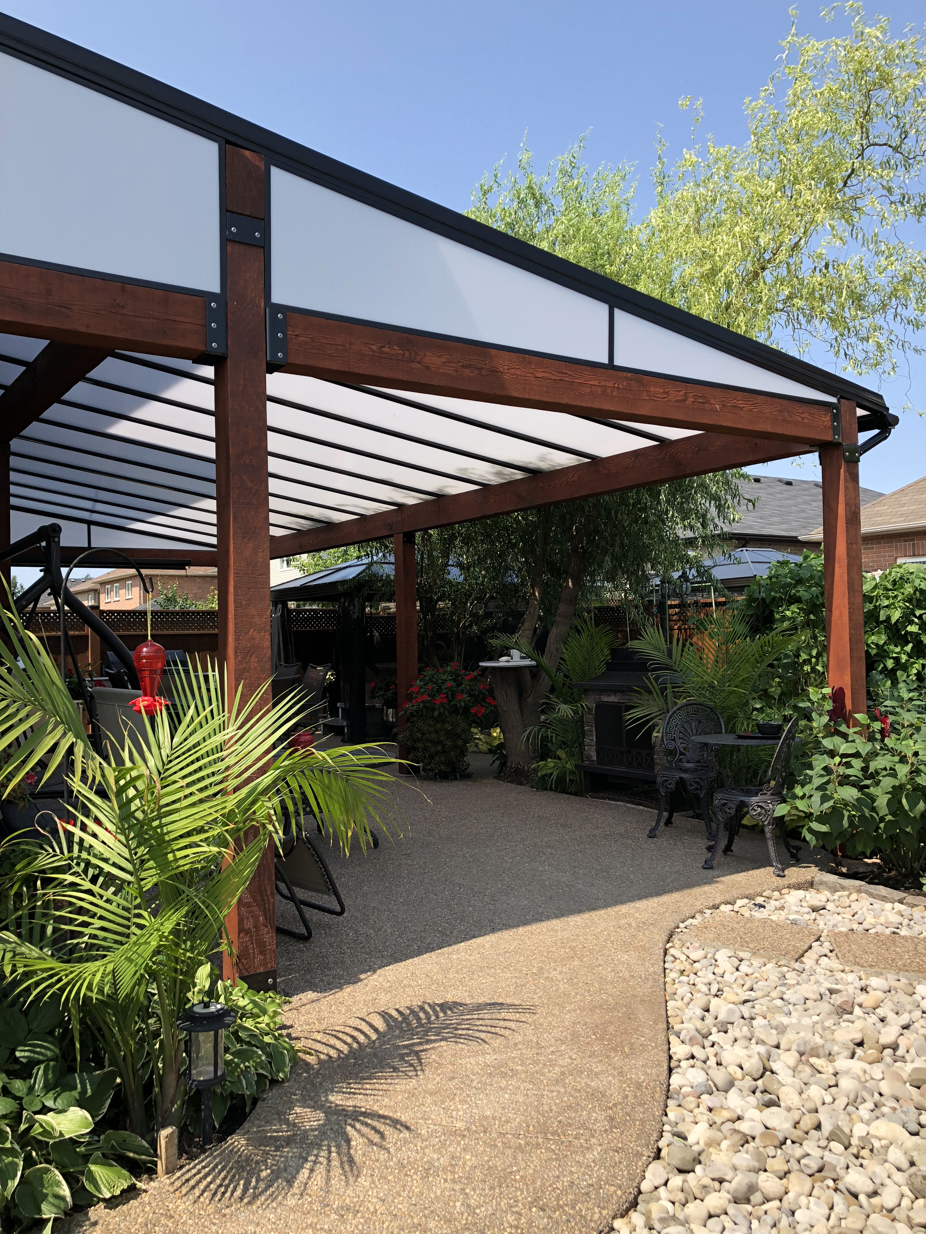 patio cover, deck covering, deck cover, deck roof system, patio covers, patio renovations for backyard