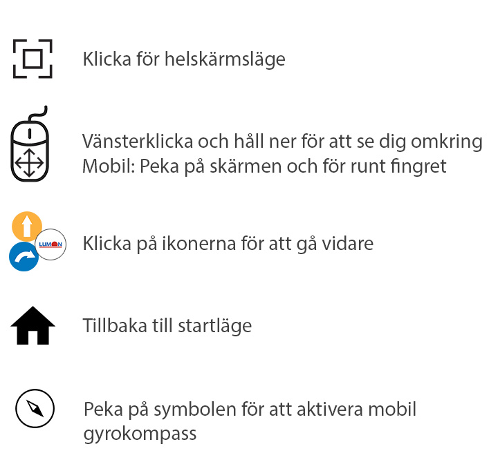 Virtuell balkonginglasning 360° - Lumon