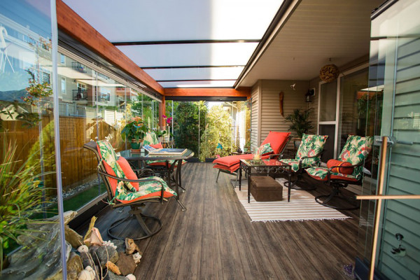 Chilliwack sunrooms, Chilliwack patio covers, Chilliwack porch enclosures, wood patio covers, wood framed sunrooms