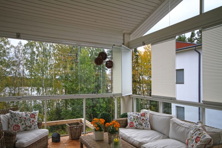 balcony blinds, window blinds, pleated blinds for your balcony
