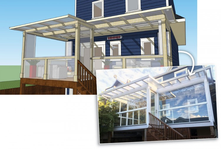 sunroom addition, custom sunroom addition, sunroom design, cost of sunroom addition in Canada, sunroom design ideas
