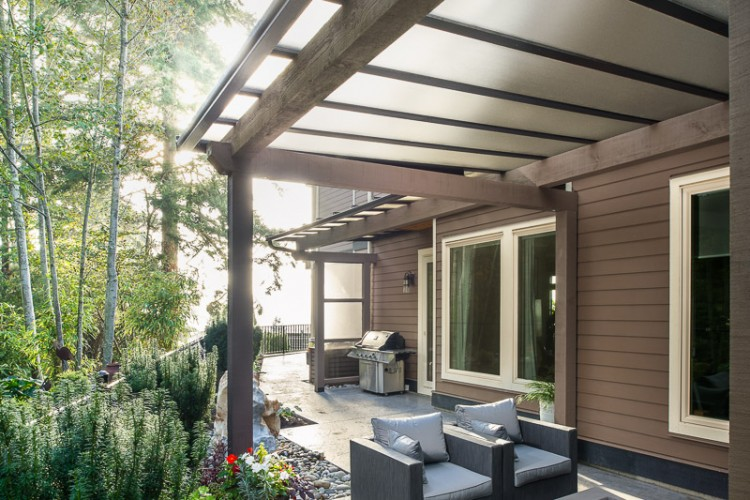 Patio Cover, Wood Patio Cover, Glass Patio Cover, Outdoor Living Space,  Aluminum