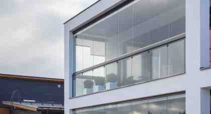 Lumon glass for terrace