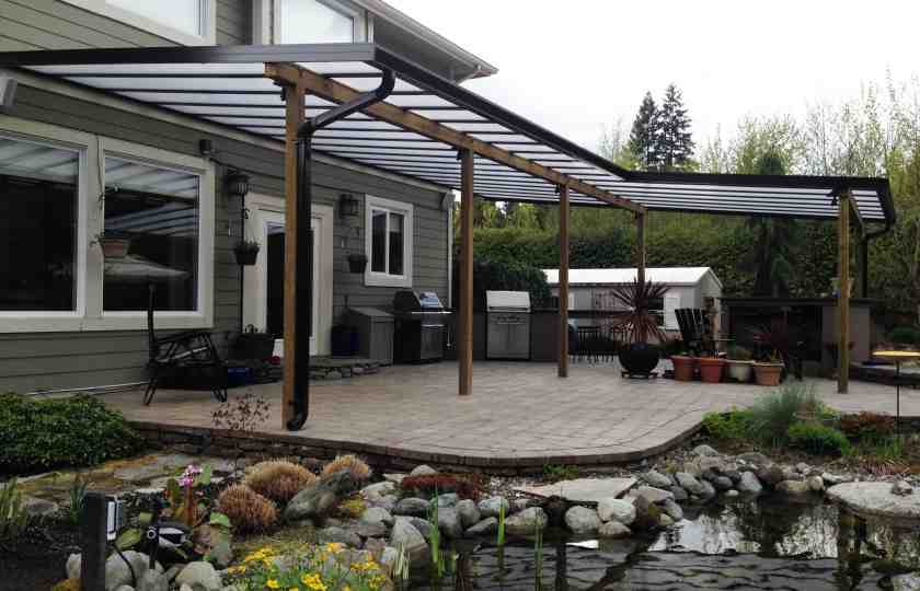 patio covers, deck coverings vancouver, deck cover, roof system