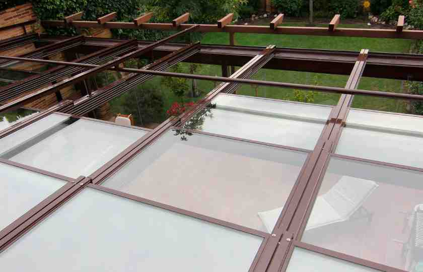 Lumon glass roof