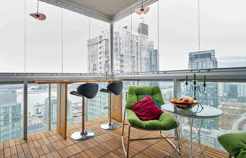 balcony glass in usa, benefits of having balcony enclosed