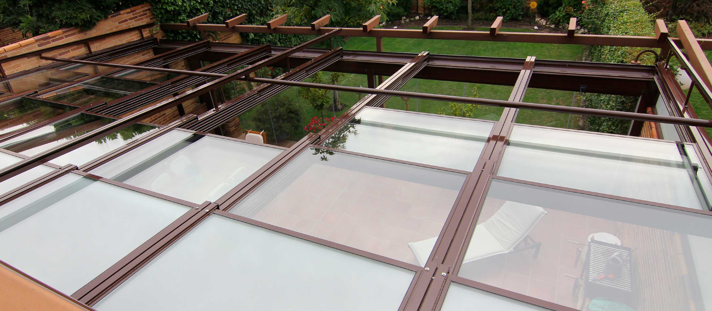 Lumpn glass roof