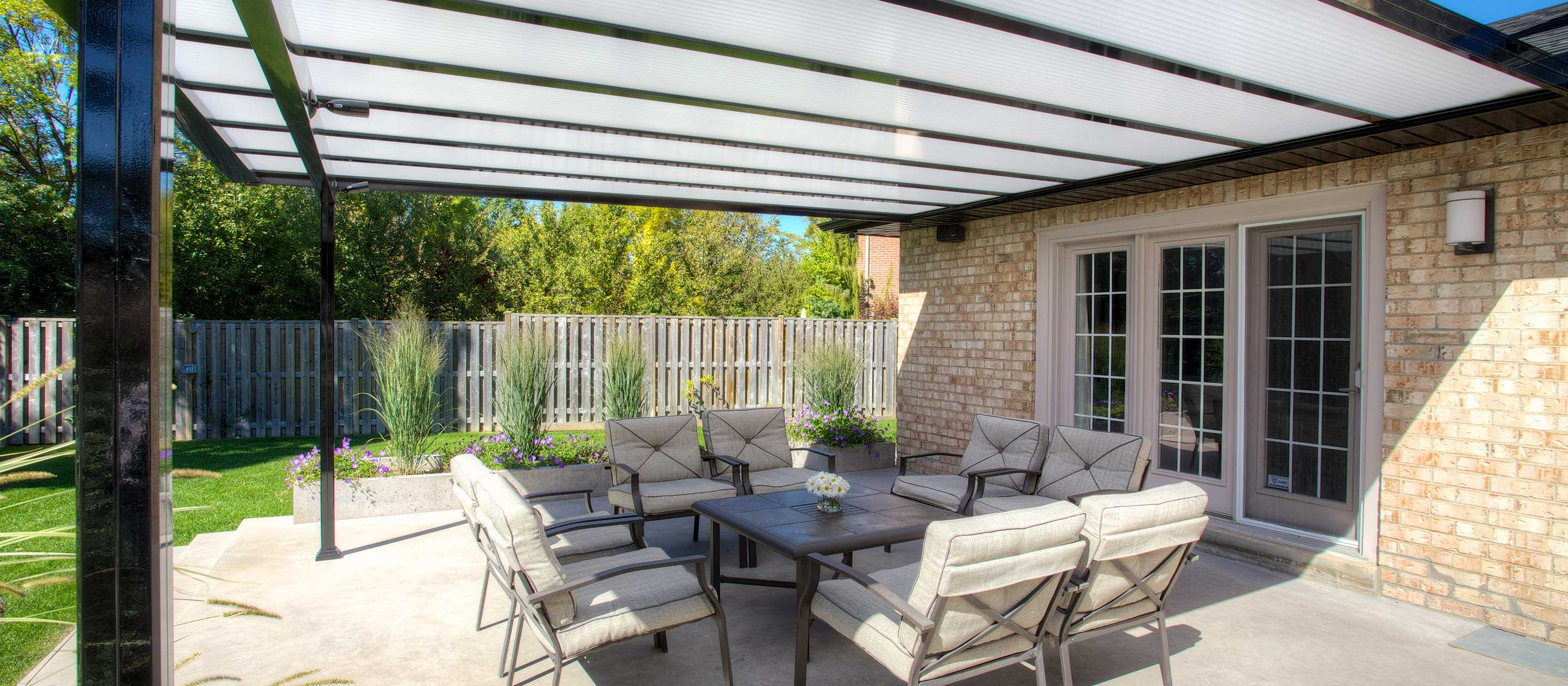 Benefits of Having a Covered Patio in Canada | Lumon on Backyard Patio Cover  id=18664