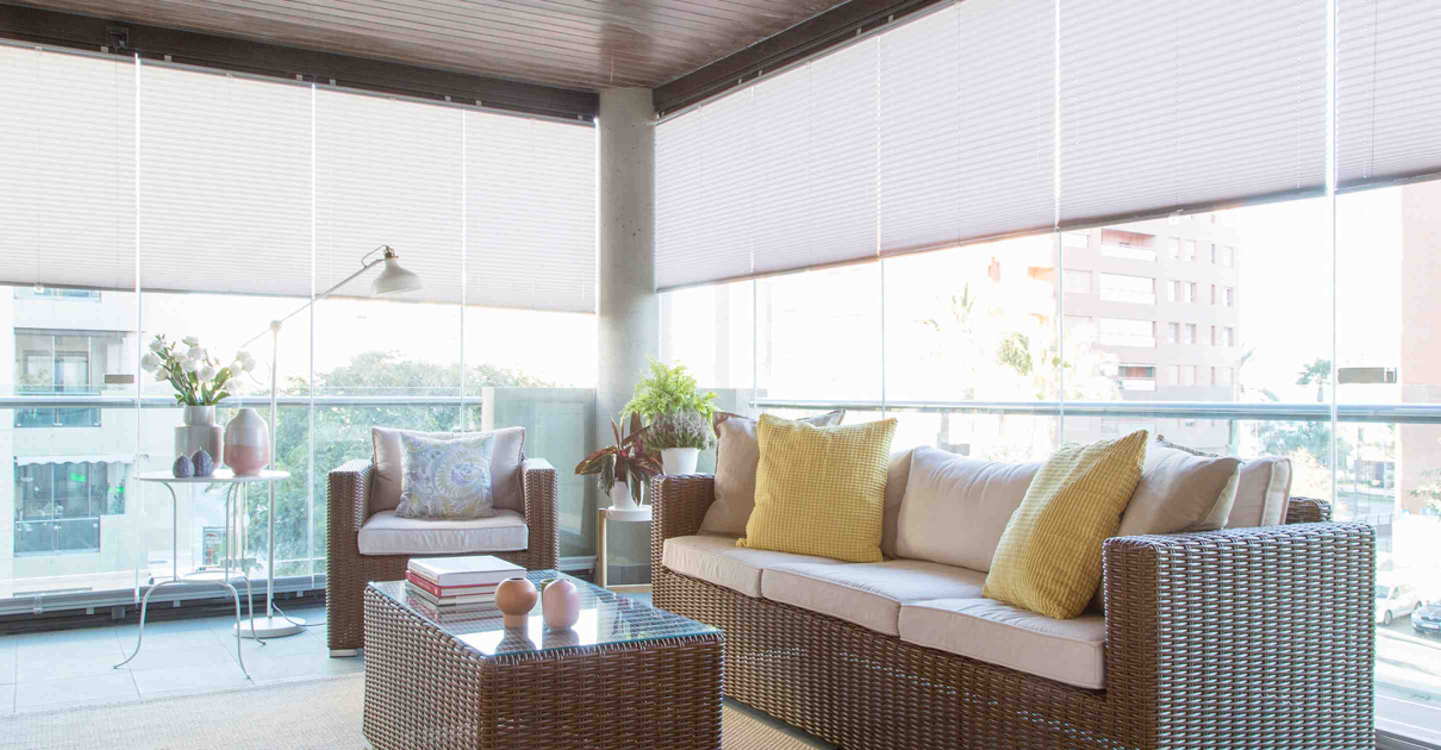 Lumon Glass Curtains for Balconies